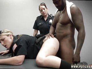 Amateur mature interracial anal and on couch Milf Cops