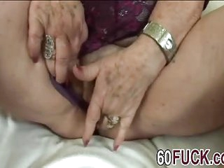 Blonde granny blowjob younger big dong fucking