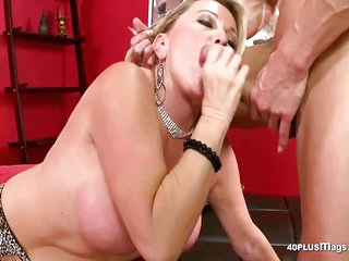 Blonde Bbw Is Hungry for Some Cock