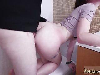 I wont go anywhere bondage and brutal dildo anal mature