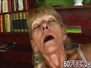 Old ass granny takes studly ramming