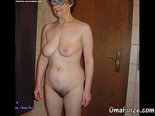 Omafotze dilettante large titted granny compilation