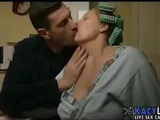 Italian Mom and Son - KacyLive.com