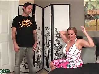 Boy Fucking not his Mom Huge Tits Milf