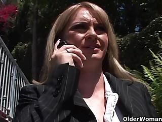 Blonde soccer mom gets anal sex