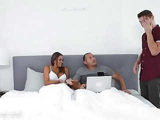 Step son gets to fuck new step mom