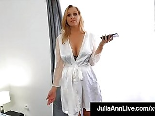 Horny Perverted Step Mom, Julia Ann bangs her step son, milking his hard young cock until he unleashes his undying sticky love for his hot mommy! Full Video & Julia Ann Live @ JuliaAnnLive.com!