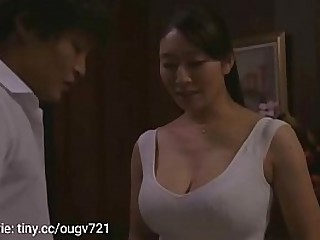 step-mom with big tits comes cock of stepson