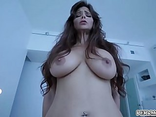 Turned on mom gobbles stepsons young rod and let him fuck her milf pussy!
