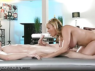 Cheating With Nuru Oil and My GF's Sexy Mom