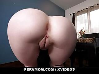 Perv Mom - Stepson banged Horny Step mom (Katie Monroe)