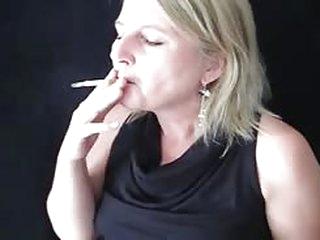 Smoking Mature Lady Claudia