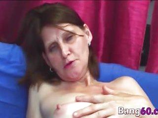Nasty mature slut Jindra gets fucked