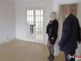 AgedLovE Hardcore Mature sex with Sales Agent
