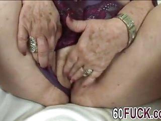 Fat bbw blonde granny fucking big dong sideways